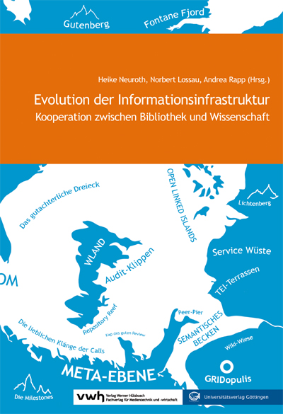 "Cover ""Evolution der Informationsinfrastruktur"""