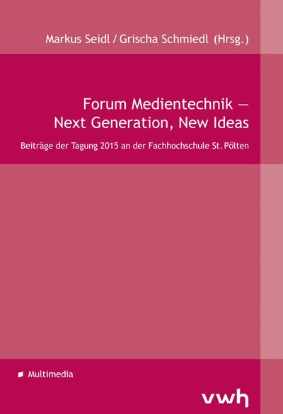 Cover Forum Medientechnik 2015