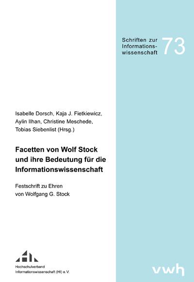 Cover Festschrift Stock